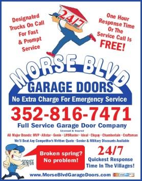 Morse Blvd Garage Doors The Villages Fl Garage Doors The